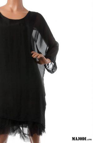 MAJODI.COM Vestido solto preto