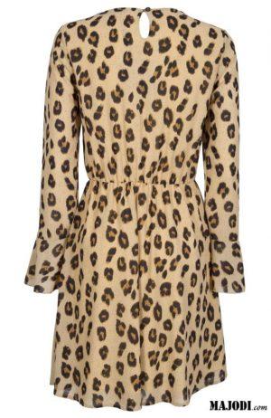 MAJODI.COM Vestido Animal Print I