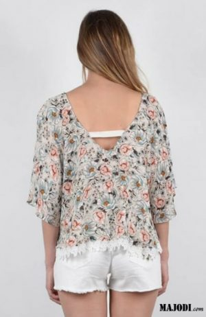 Molly Bracken Blusa estampada P972P18