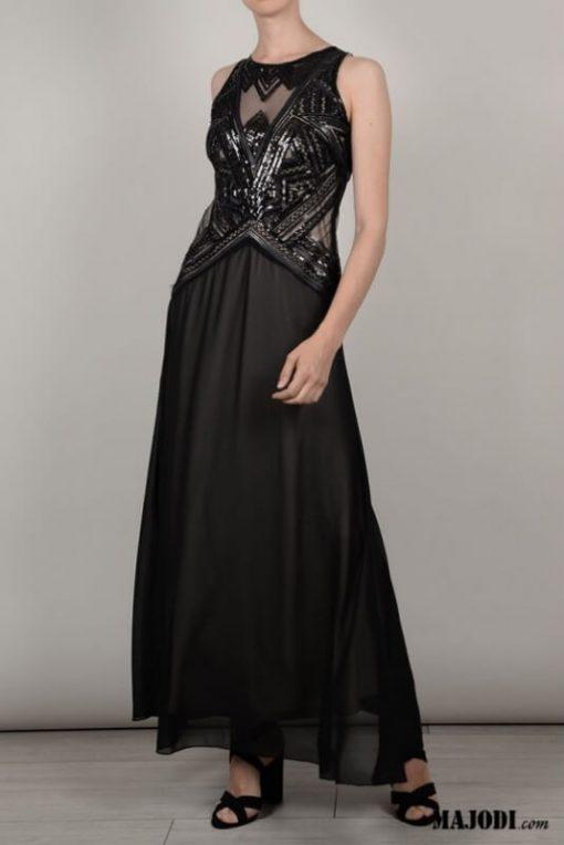 Molly Bracken Vestido comprido lantejoulas