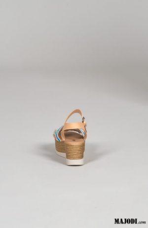 RUGA S252 Sandálias cunha