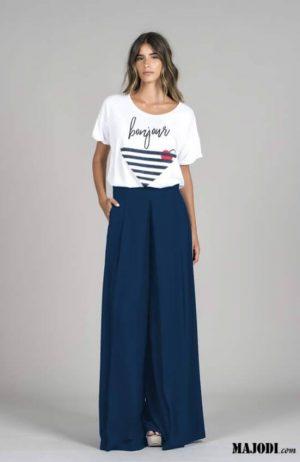 RUGA T014 T-shirt bonjour cru MAJODI.COM