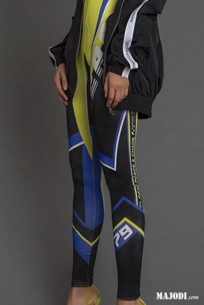 MAJODI.COM Legging azul