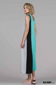 RUGA 2761 Vestido tricolor MAJODI.COM