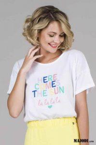 RUGA T026 T-shirt Here Comes The Sun MAJODI.COM
