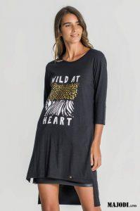 RUGA T056 T-shirt WILD AT HEART MAJODI.COM