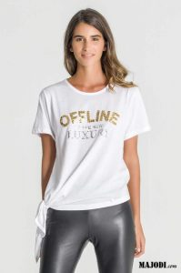 RUGA T057 T-shirt Offline is the New Luxury MAJODI.COM