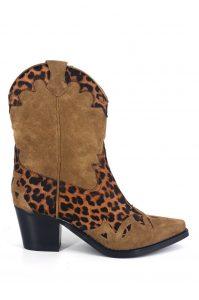 JEFFREY CAMPBELL Botas texanas leopardo MAJODI.COM
